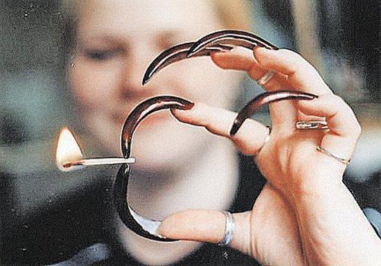 Лёгкий дизайн ногтей фото