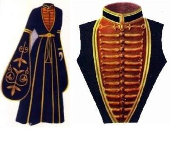 Платье-пальто можно сшить.  В главе 1 раздела II дана краткая.