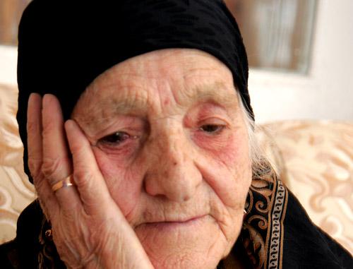 Губати Галаева. Ингушетия, Алхасты, февраль 2012 г. Фото Татьяны Гантимуровой для «Кавказского узла»