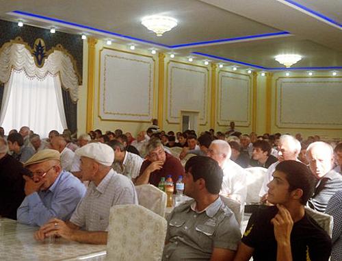 Съезд лакского народа. Махачкала, 28 сентября 2012 г. Фото: Информационно-аналитический центр ФЛНКА, http://flnka.ru