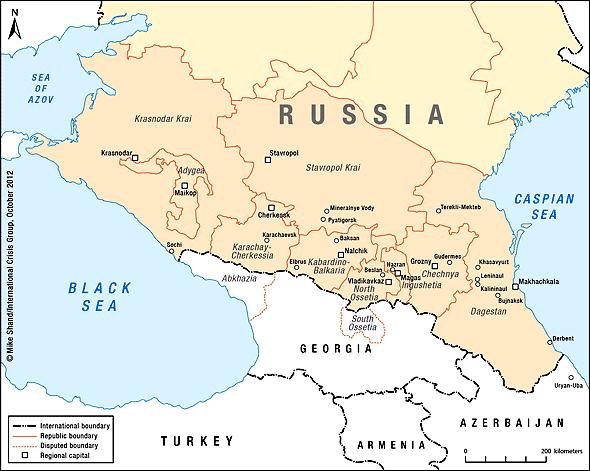Трения между россией и грузией по поводу спорных анклавов южная осетия и абхазия нарастают