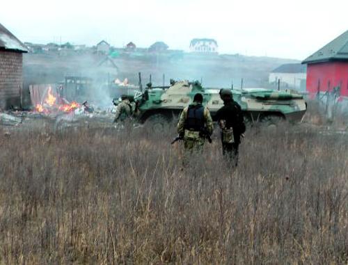 Евкуров: боевики, убитые в Долаково, планировали теракты