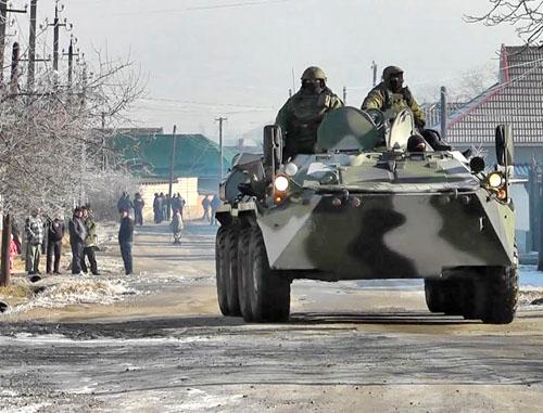 Жертвами вооруженного конфликта на Северном Кавказе с 20 по 26 января стали 14 человек