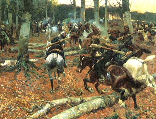 Кавказская война. (1885-1895). Франц Рубо. http://ru.wikipedia.org/