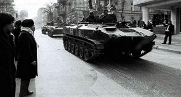 Армянский погром в Баку 1990  Википедия