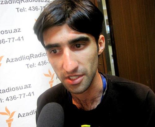 Журналист Рамин Деко. Фото: Azadliq Radiosu, http://origin.azadliq.org