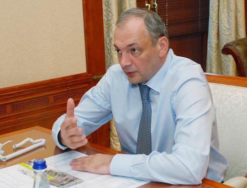 Президент Дагестана Магомедсалам Магомедов. Фото с официального сайта www.president.e-dag.ru