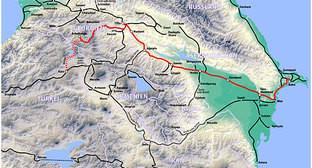 Проект Баку-Тбилиси-Карс (фото с сайта railway.ge)