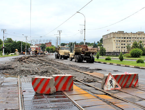 Во Владикавказе из-за ремонта