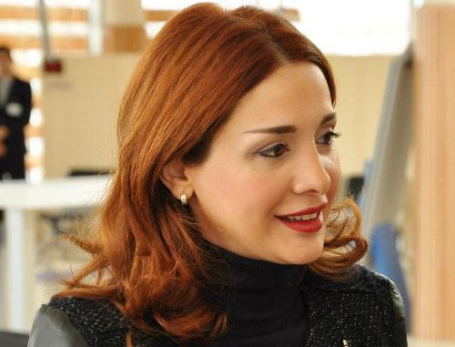 "Хатуна Калмахелидзе. Фото:  ""Public Reception"", http://public.mcla.gov.ge"