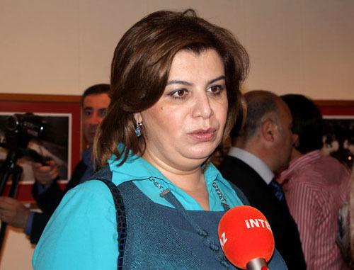 Гюляр Ахмедова. Фото http://www.1news.az