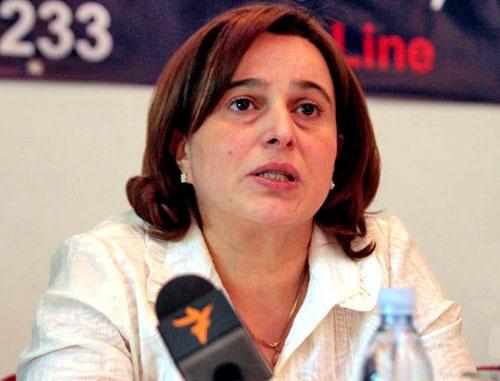 Манана Кобахидзе. Фото: Nodar Tskhvirashvili (RFE/RL)