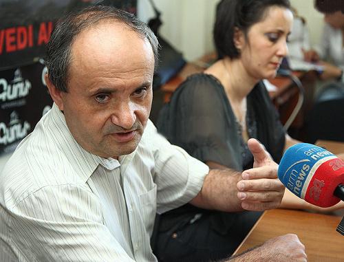 Бывший советник президента Армении по национальной безопасности Ашот Манучарян. Фото: © PanARMENIAN Photo/Tigran Mehrabyan