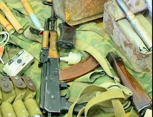 Оружие. Фото http://05.mvd.ru