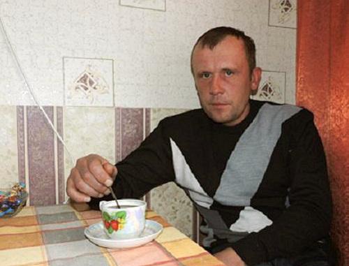 38-летний житель деревни Огаревичи Ганцевичского района Андрей Ковш, бывший работник кирпичного завода в Дагестане. 2 февраля 2013 г. Фото: http://euroradio.fm