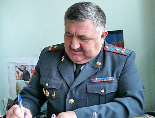 Заместитель начальника управления внутренних дел республиканского ведомства Дагестана, полковник полиции Салих Гаджиев. Фото: Абдурахман Магомедов, http://www.dagpravda.ru
