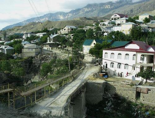 Селение Хаджалмахи Левашинского района. Дагестан. Фото http://www.odnoselchane.ru/