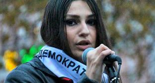 Луиза Дибирова. Фото www.yabloko.ru
