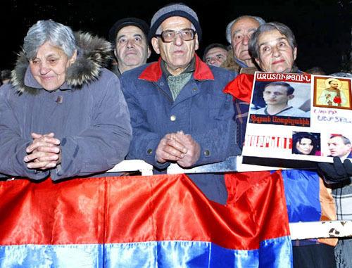 Участники митинга Армянского национального конгресса. Ереван, ноябрь 2011 г. Фото © PanARMENIAN Photo/Varo Rafaelyan