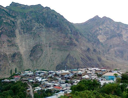 Селение Гимры Унцукульского района Дагестана. Фото: АбуУбайда, http://commons.wikimedia.org/