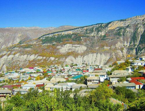 Селение Карата Ахвахского района Дагестана. Фото: Магомед Расулов, http://www.odnoselchane.ru/