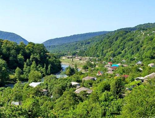 Село Самтацкаро Дедоплисцкаройского района Грузии. Фото http://novostink.ru/