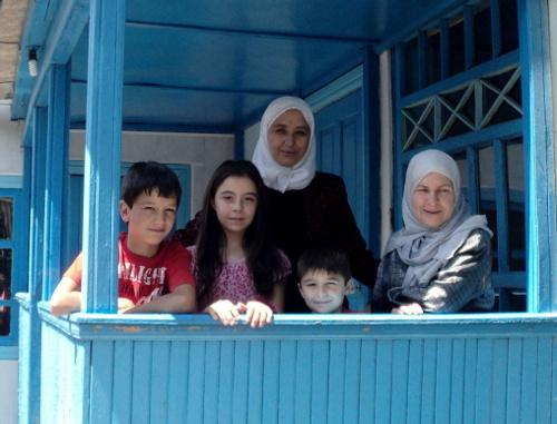Переселенцы из Сирии в Благовещенке. КБР, Прохладненский район, 2013 г.
