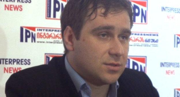 Джаба Гургенидзе. Фото http://news.ge/