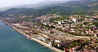 Вид на город Сочи. Фото: Sergey Subbotin / Сергей Субботин, http://commons.wikimedia.org/