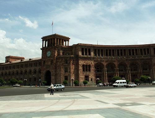 Армения, Ереван, площадь Республики. Фото: Sedrak Mkrtchyan, 5http://www.flickr.com/photos/517design
