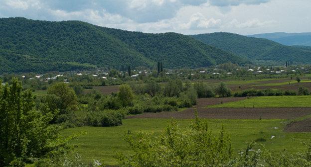 Грузия, Ахмета, село Дуиси в Панкисском ущелье. Фото: Scott McDonough, http://www.flickr.com/photos/48443160@N00