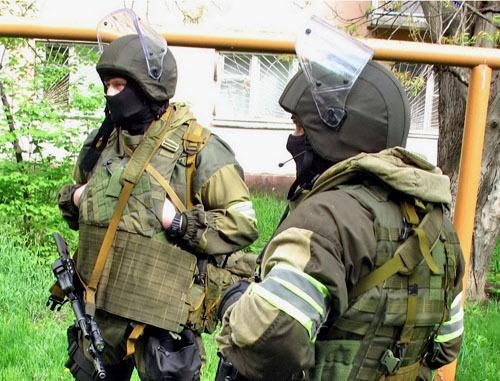 Сотрудники правоохранительных органов. Фото http://nac.gov.ru/