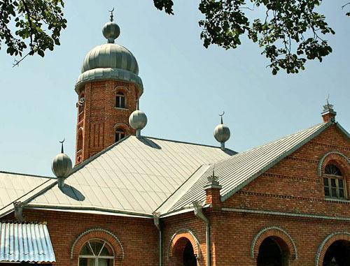 Мечеть в Дуиси.  Ахметский муниципалитет, Грузия. Фото: А.Мухранов http://ru.wikipedia.org/