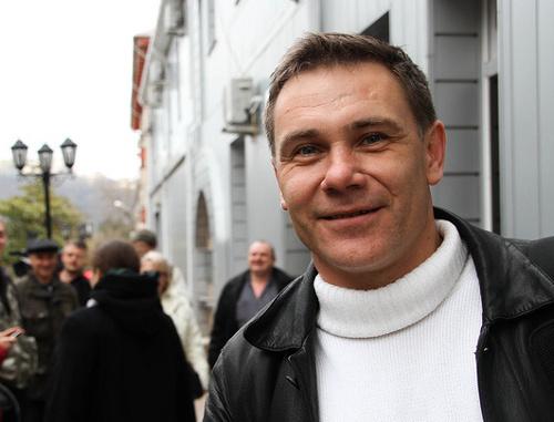 Евгений Витишко. Март 2012 года. Фото: http://oleg-kozyrev.livejournal.com/4074689.html