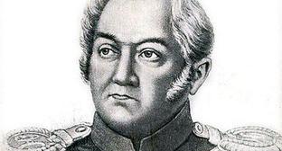 Адмирал Михаил Петрович Лазарев. (с гравюры И. Томсон, относяйщейся примерно к 1835 г.). Фото http://commons.wikimedia.org/