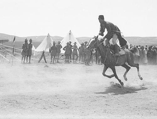 Черкесский всадник в Трансиордании (1921). Фото: G. Eric and Edith Matson Photograph Collection http://commons.wikimedia.org/