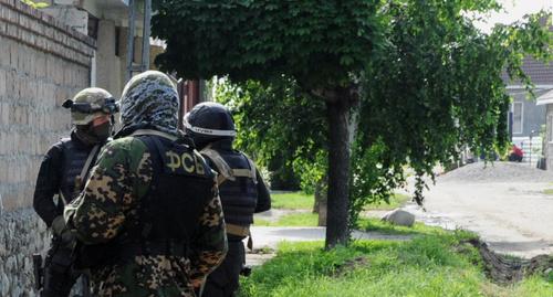 Спецоперация в КБР. Май 2014 г. Фото НАК, nac.gov.ru
