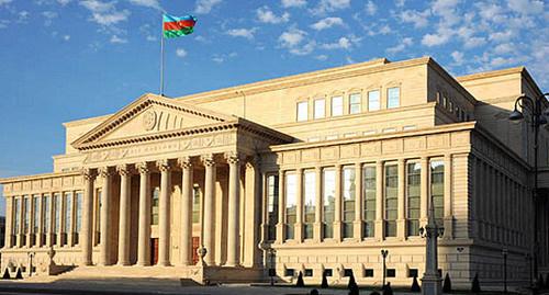 Баку, здание Верховного суда Азербайджана. Фото: www.supremecourt.gov.az