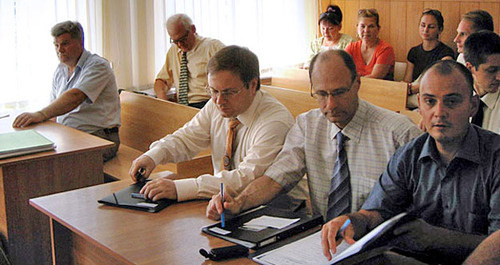 Судебное заседание по делу «Свидетелей Иеговы» в Таганроге. Фото: предоставлено обвиняемыми «Свидетелями Иеговы»