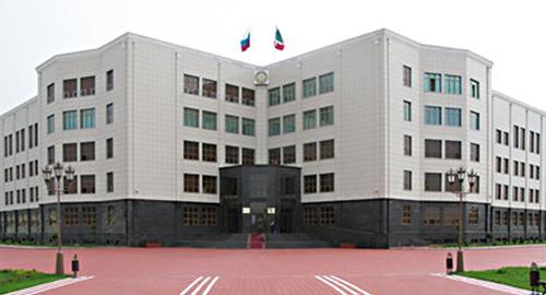 Здание администрации Главы и Правительства Чеченской Республики. Фото: http://adminchr.ru/