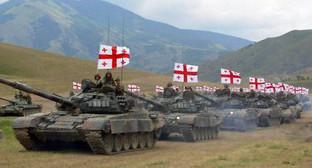 Колонна грузинских танков. Фото: http://news.siteua.org/Мир/25258/Грузия_обнародовала_поименный_список_погибших