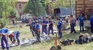 Гуманитарная операция в Южной Осетии 2008 года. Фото: МЧС медиа - сайт Объединённой редакции МЧС России. http://pda.mchsmedia.ru/photogallery/document656961