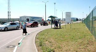 "Автомобильный пункт пропуска ""Донецк"". Фото http://wikimapia.org/"