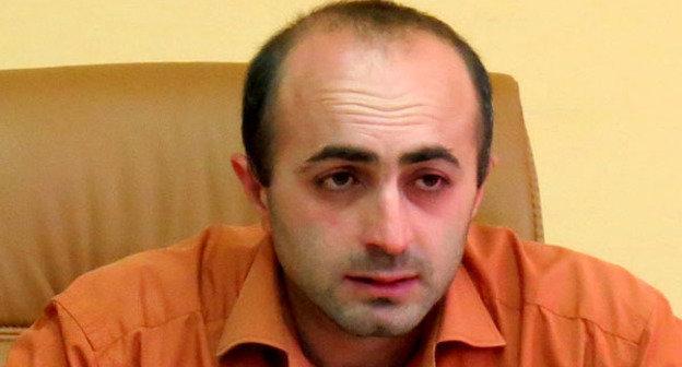 Председатель партии «Национальное возрождение» Айк Ханумян. Фото: блог Альберта Восканяна http://www.kavkaz-uzel.ru/blogs/929/posts/18238