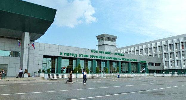 Аэропорт города Грозный. Фото http://moygrozny.ru/2677-foto-aeroporta-groznyy.html