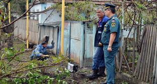 Ликвидация последствий стихии в Ногайском районе Карачаево-Черкесии, август 2014. Фото: http://www.09.mchs.gov.ru/upload/DSC_0077.JPG