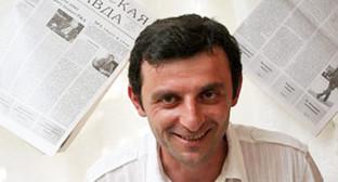 Главный редактор «Чегемской правды» Инал Хашиг. Фото: личная страница facebook Инала Хашига. https://www.facebook.com/inalkhashig