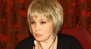 Зампредседателя правительства КБР Ирина Марьяш. Фото http://www.parlament-kbr.ru/