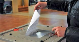 Урна для голосования. Фото: Елена Синеок. ЮГА.ру