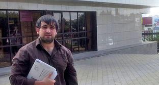 Адвокат Висит Цороев. Фото с личной страницы Facebook